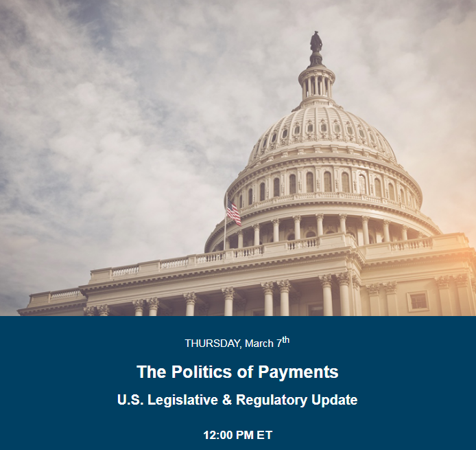 The Politics of Payments Webinar Link