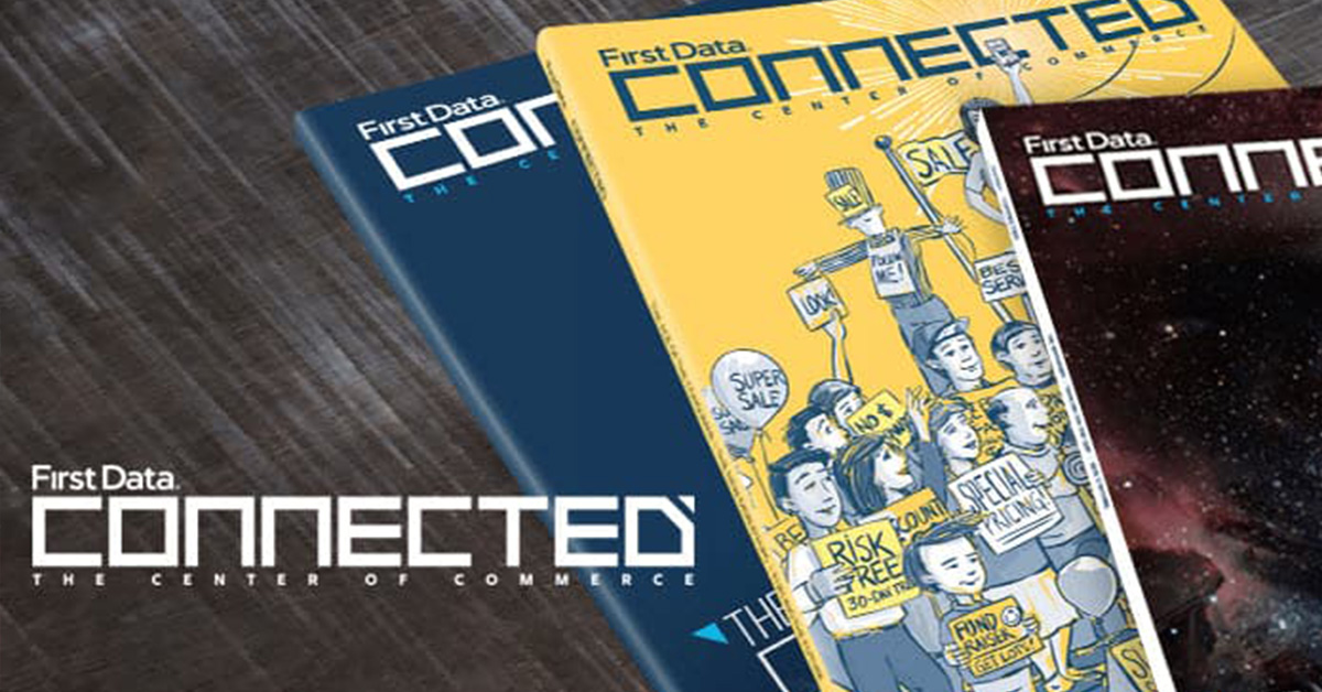 Connected magazine image